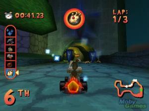 275819-looney-tunes-racing-playstation-screenshot-falling-shields